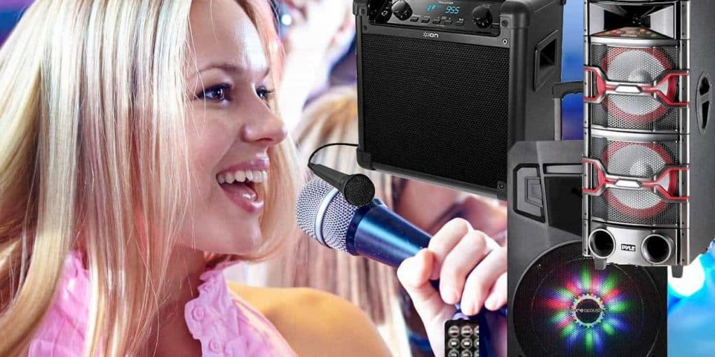 The Best Karaoke Speakers You Can Get Your Hands On - My
