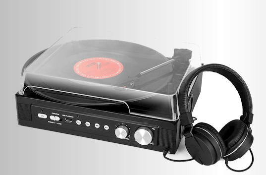 1byone-Mini-Stereo-Turntable