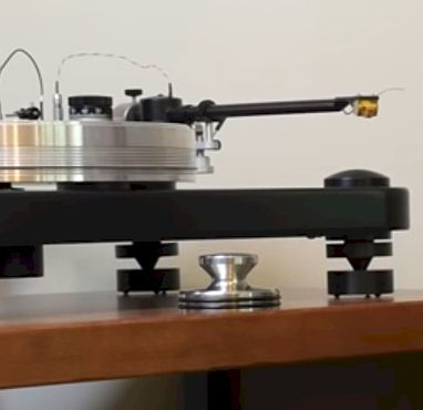 turntable to speakers without a receiver