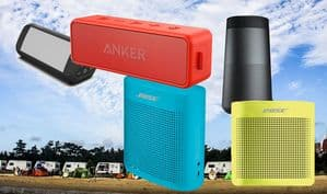 camping speakers reviews