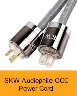 SKW Audiophile OCC Power Cord