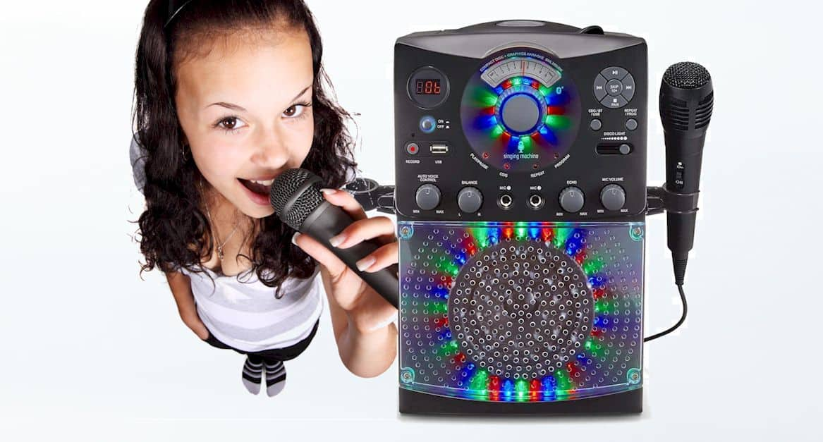 singing machine sml385 review